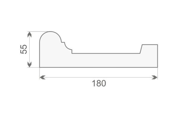 Listwa elewacyjna LE-17