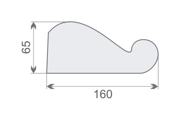 Wspornik elewacyjny WE6